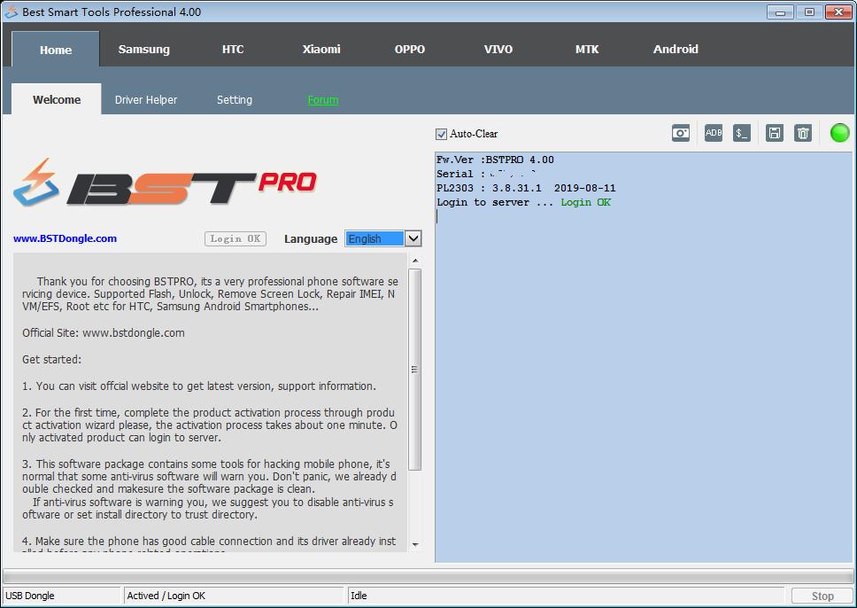 BST Dongle Smart Tool 4.03 Crack 2021 Latest Version Setup